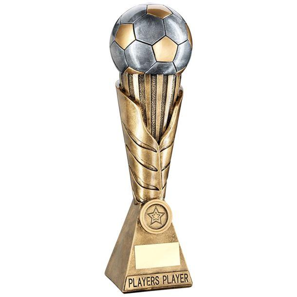 "Laurel Wreath Riser Players Player Football Trophy 30.5cm (12"")"