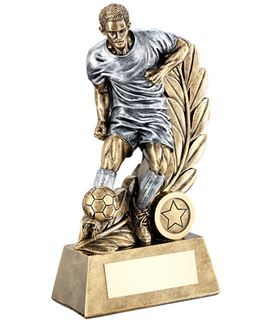 "Control Wreath Male Football Trophy 26cm (10.25"")"