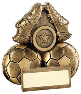 """Pair Of Football Boots Trophy 9.5cm (3.75"""")"""