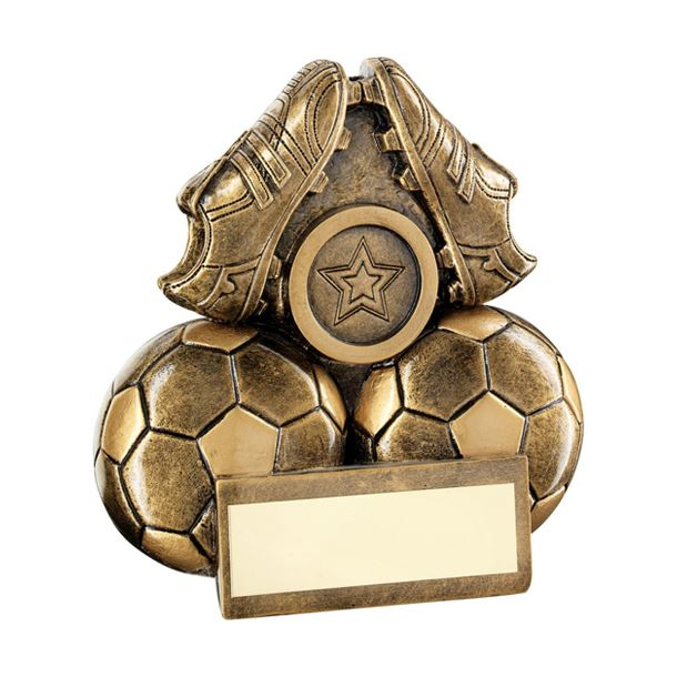 """Pair Of Football Boots Trophy 11.5cm (4.5"""")"""