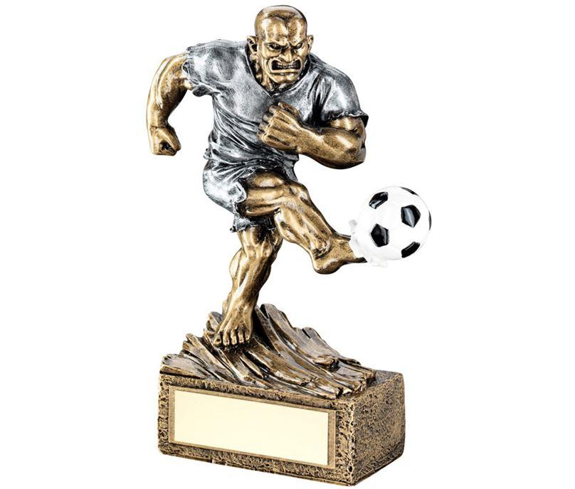"Novelty 'The Beast' Football Trophy 17cm (6.75"")"