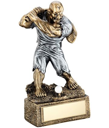 "Novelty 'The Beast' Golf Trophy 17cm (6.75"")"