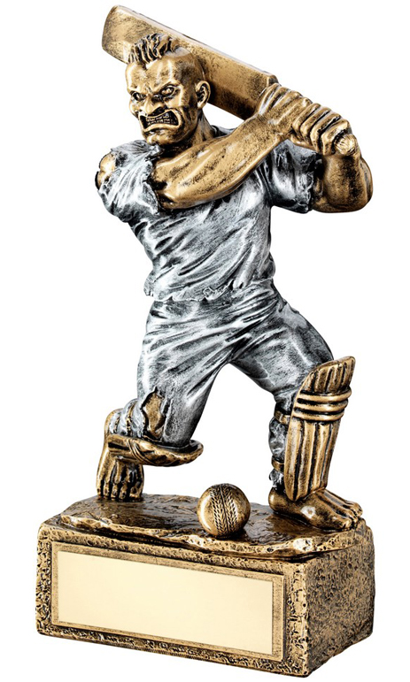 "Novelty 'The Beast' Cricket Trophy 17cm (6.75"")"