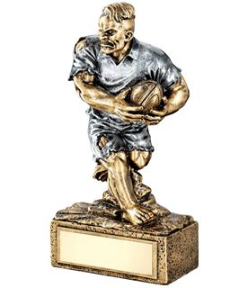 "Novelty 'The Beast' Rugby Trophy 17cm (6.75"")"