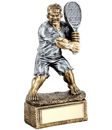 "Novelty 'The Beast' Tennis Trophy 15cm (6"")"
