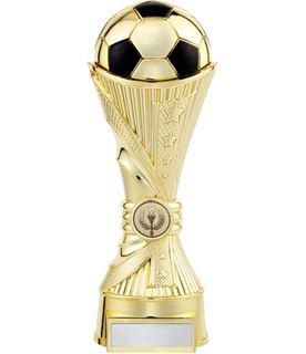 "All Stars Football Heavyweight Trophy Gold 25cm (9.75"")"
