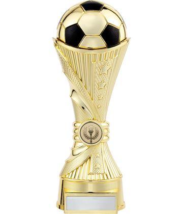 "All Stars Football Heavyweight Trophy Gold 15cm (6"")"