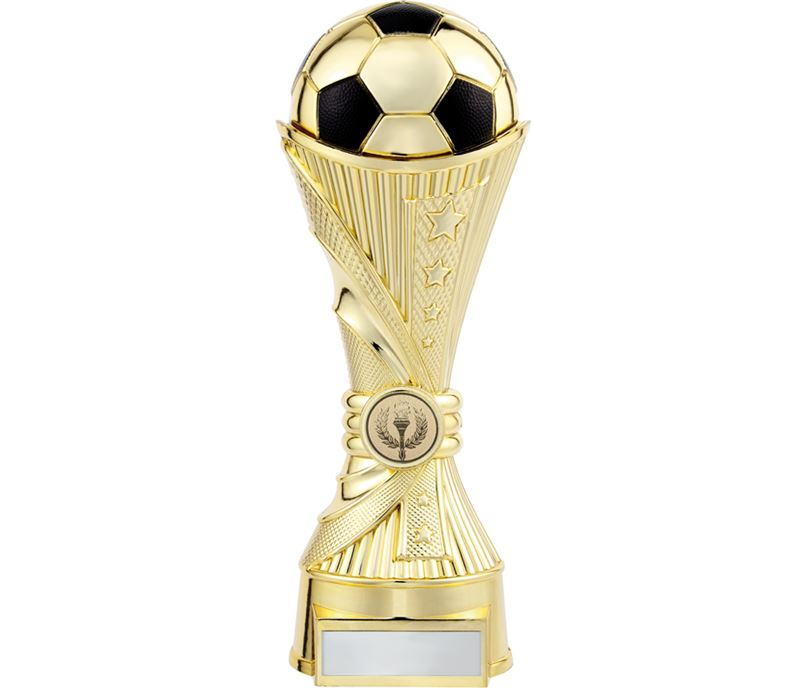 "All Stars Football Heavyweight Trophy Gold 25cm (9.75"")"