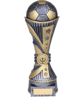 "All Stars Football Heavyweight Trophy Silver 22cm (8.75"")"