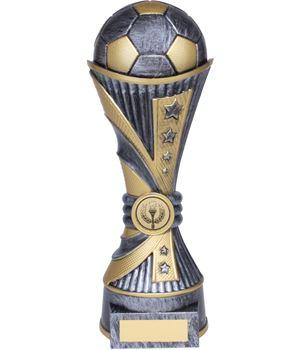 "All Stars Football Heavyweight Trophy Silver 25cm (9.75"")"