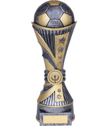 "All Stars Football Heavyweight Trophy Silver 15cm (6"")"