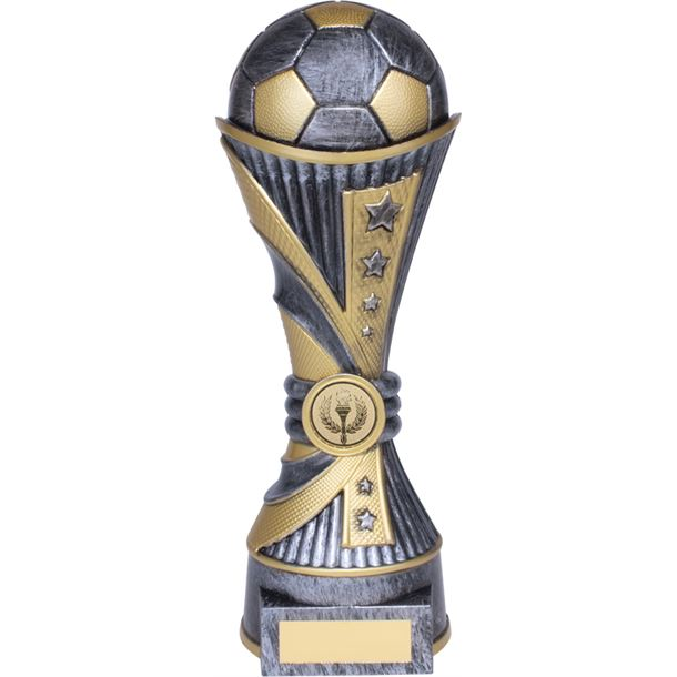 "All Stars Football Heavyweight Trophy Silver 18cm (7"")"