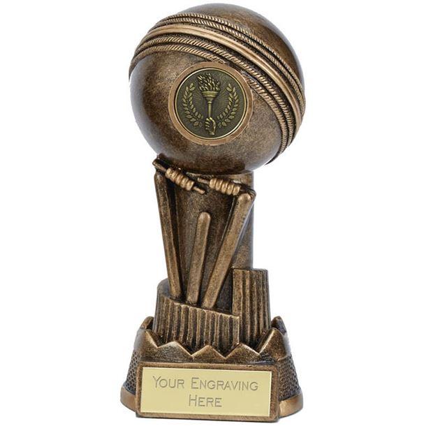"Cricket Ball Trophy Apex 13cm (5"")"
