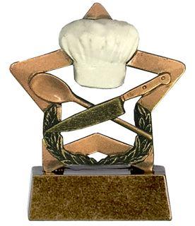 "Cooking Mini Star Trophy 8.5cm (3.25"")"
