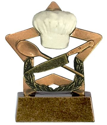 "Cooking Mini Star Trophy 8.5cm (3.25"")"