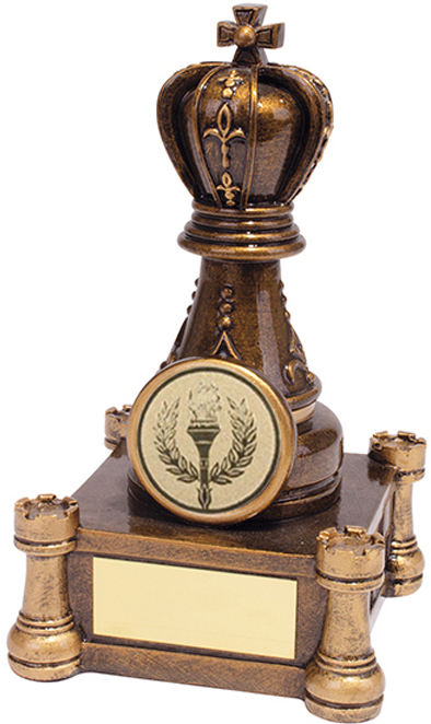 "Checkmate Chess Trophy 12.5cm (5"")"