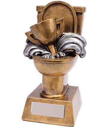 """Loo-ser Novelty Poo Trophy 15.5cm (6"""")"""