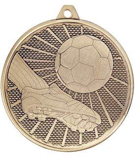 "Football Formation Medal Gold 50mm (2"")"