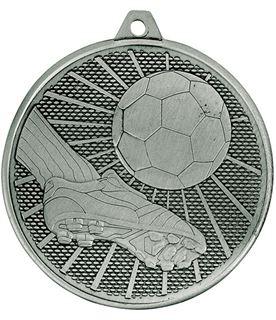 "Football Formation Medal Silver 50mm (2"")"