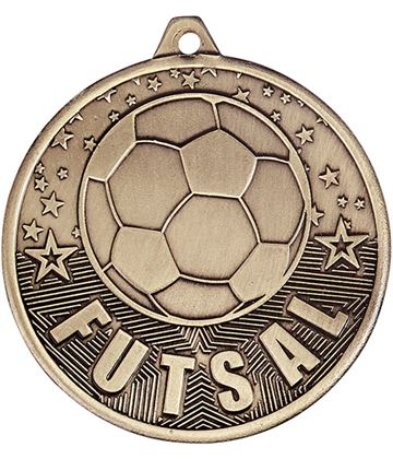 "Futsal Medal Gold 50mm (2"")"