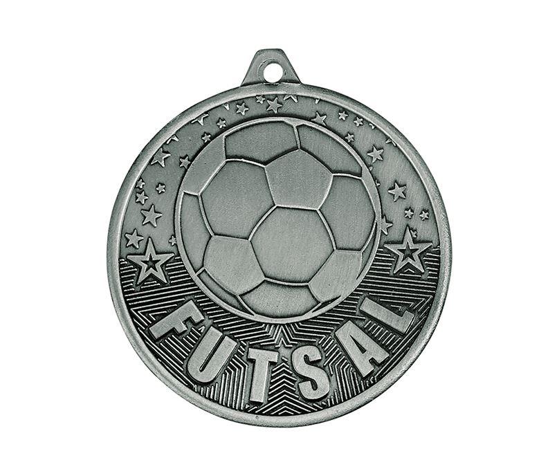"Futsal Medal Silver 50mm (2"")"