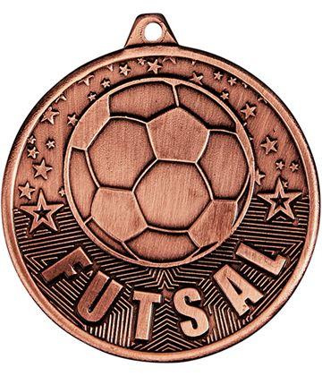 "Futsal Medal Bronze 50mm (2"")"