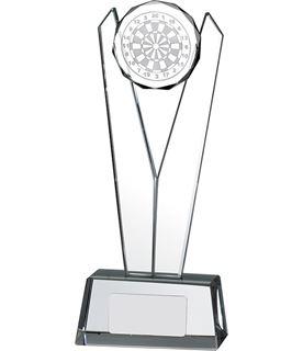 "Victory Darts Glass Award 17cm (6.75"")"