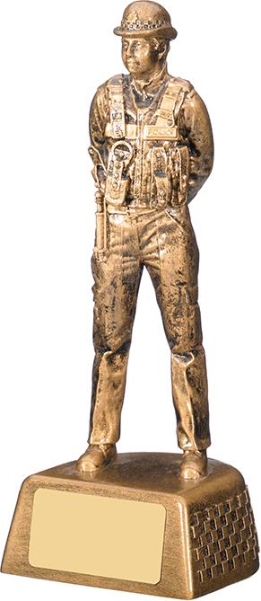 """Policewomen Figure Trophy 18.5cm (7.25"""")"""