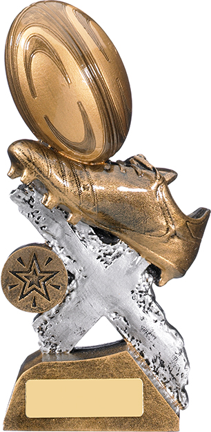 "Extreme Rugby Trophy 13cm (5.25"")"