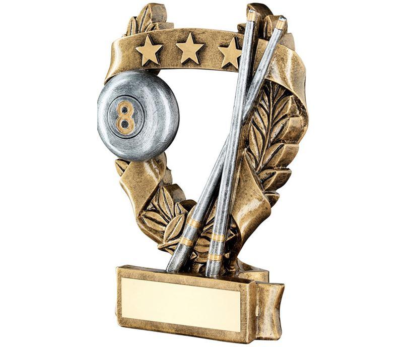 """Star Laurel Wreath Pool Trophy 19cm (7.5"""")"""