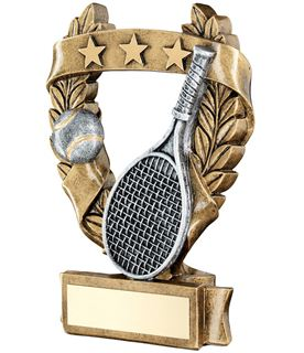 "Star Laurel Wreath Tennis Trophy 12.5cm (5"")"