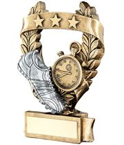 "Star Laurel Wreath Athletics Trophy 16cm (6.25"")"