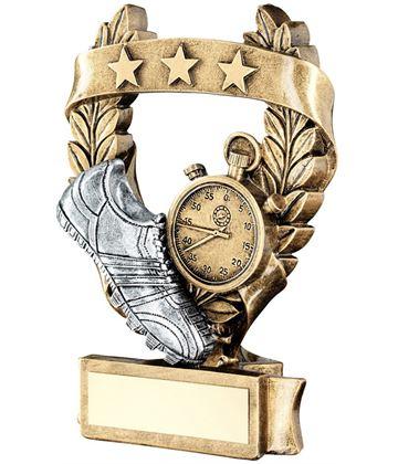 "Star Laurel Wreath Athletics Trophy 12.5cm (5"")"