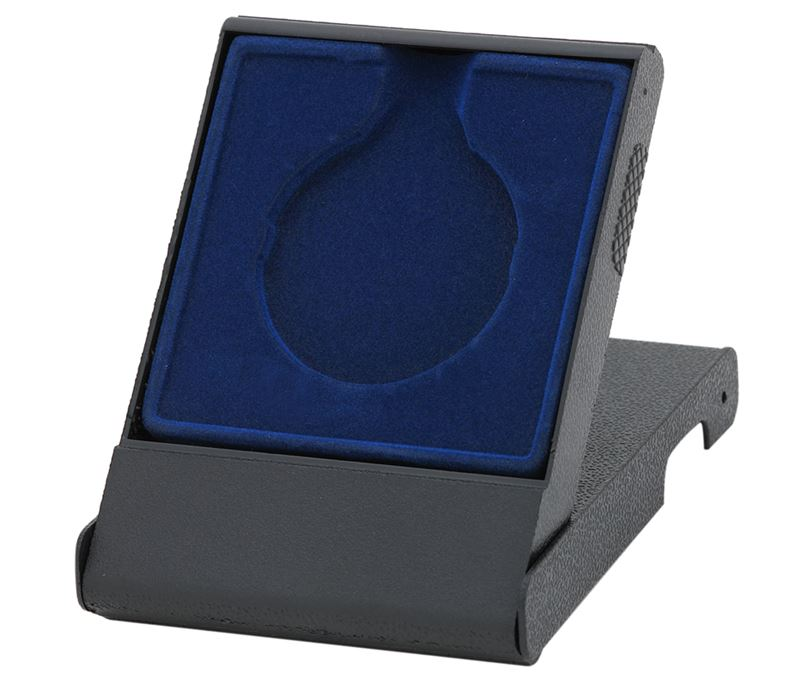 Blue Medal Box with Solid Lid for 50mm Medals