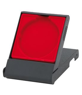 Red Medal Box with Solid Lid for 70mm Medals
