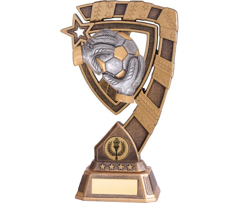 "Euphoria Football Goalkeeper Trophy 21cm (8.25"")"