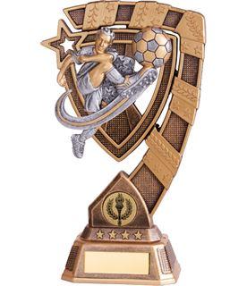 "Euphoria Male Football Trophy 18cm (7"")"