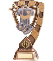 "Euphoria Football Trophy 15cm (6"")"