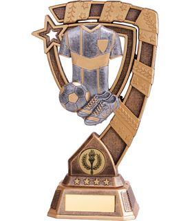 "Euphoria Football Trophy 21cm (8.25"")"