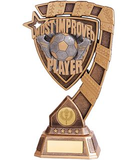 "Euphoria Most Improved Player Football Trophy 18cm (7"")"