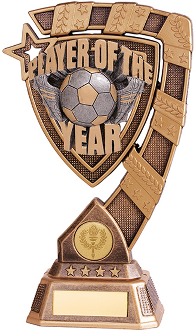 "Euphoria Player Of The Year Football Trophy 13cm (5"")"