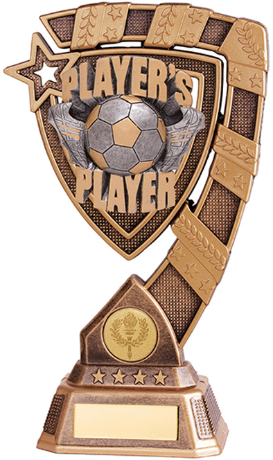 "Euphoria Players Player Football Trophy 13cm (5"")"