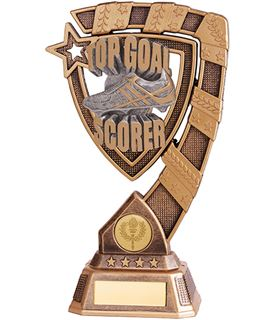 "Euphoria Top Goal Scorer Football Trophy 15cm (6"")"
