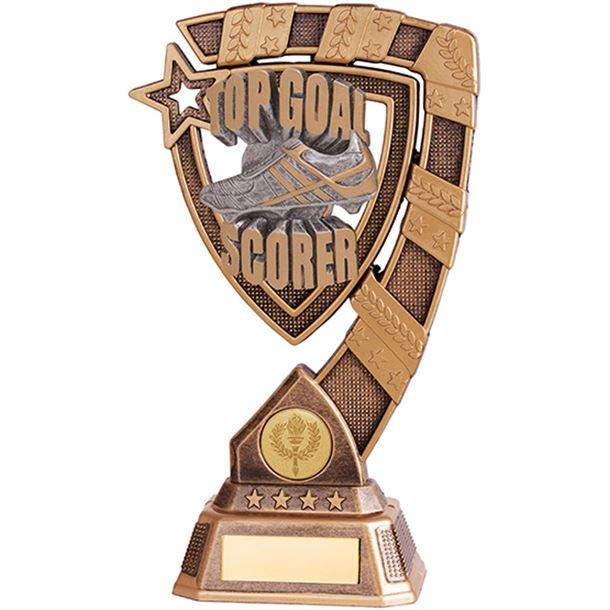 "Euphoria Top Goal Scorer Football Trophy 13cm (5"")"