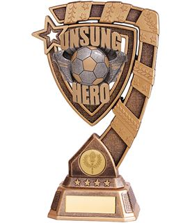 "Euphoria Unsung Hero Football Trophy 21cm (8.25"")"