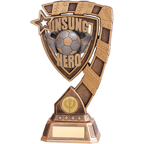 "Euphoria Unsung Hero Football Trophy 13cm (5"")"