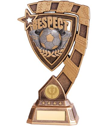 "Euphoria Respect Football Trophy 13cm (5"")"