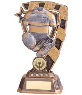"""Euphoria Rugby Trophy 21cm (8.25"""")"""