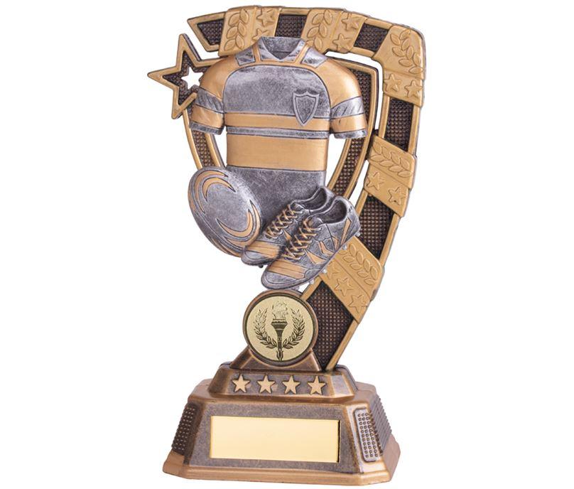 """Euphoria Rugby Trophy 18cm (7"""")"""
