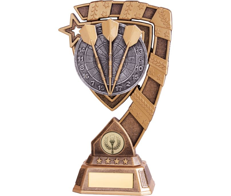 """Euphoria Darts Trophy 21cm (8.25"""")"""